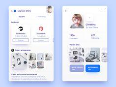 Capsule Diary  by wenjun #Design Popular #Dribbble #shots