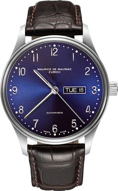 Latest Automatic Modern Watch from Maurice de Mauriac. Swiss luxury watches for men and women.    http://www.mauricedemauriac.ch/home.php