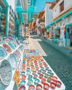 Street market ~ Kalkan, Antalya, Turkey Phot – 2020 World Travel Populler Travel Country Cool Places To Visit, Places To Travel, Places To Go, Mykonos, Santorini, Kalkan Turkey, Alacati Turkey, Alanya Turkey, Turkey Destinations