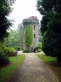 Pepperpot Tower at Powerscourt, Ireland Built in 1911