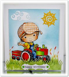 Inspiration Monday- Bright Birthday