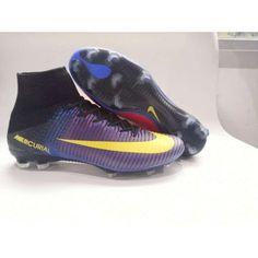 c436f7cb9 Nike Mercurial - In Vendita Scarpe Da Calcio 2017 Nike Mercurial Superfly V  FG Viola Giallo