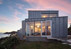 Cook Strait House by Tennent + Brown Architects