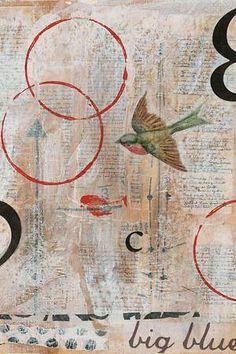 'C' Bird by Judy Paul