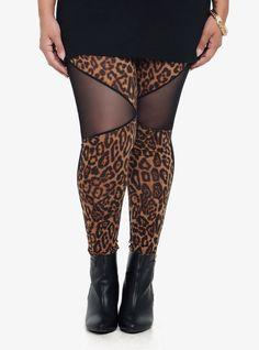 Leopard Front Leggings | Torrid