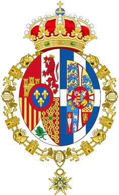 File:Personal Coat of arms of Sofia, Queen of Spain.svg/ Escudo de Armas de la Reina Sofia de España.