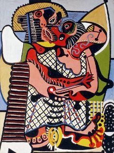 Picasso: Le baiser (1924)