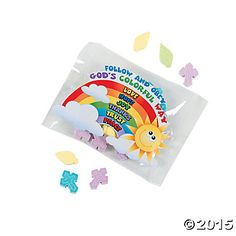 Palm & Cross Easter Candy Fun Packs - Oriental Trading