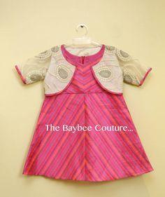 Gccv Frocks For Girls, Kids Frocks, Little Girl Dresses, Kids Dress Wear, Kids Gown, Children Dress, Girls Frock Design, Baby Dress Design, Kids Ethnic Wear