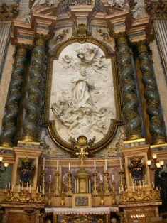 SantIgnazio-SLuigiGonzaga02-SteO153 - Sant'Ignazio Church, Rome - Wikipedia, the free encyclopedia
