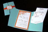 knot to nest: Wedding Crafts: Wedding Invitations