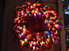 I think I could make this!!    Shot Gun Shell Wreath by AshbachCreations on Etsy, $75.00