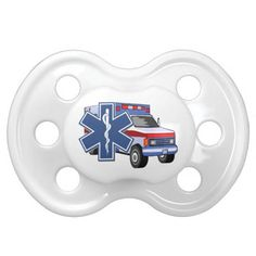 EMS Ambulance Baby Pacifiers