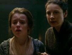 """Episode 212 """"The Hail Mary"""" of Outlander Season Two on Starz via www.outander-online.com with Caitriona Balfe as Claire Fraser"""