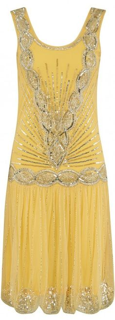 New Gatsby-style dress. Do you think we love 20's fashion because of Downton Abbey? I think that's one of the reasons. Read updated article: http://www.boomerinas.com/2013/06/26/flapper-fashion-trend-for-parties-cruises-weddings/
