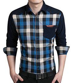 Formal Shirts For Men, Casual Shirts, Casual Outfits, Cute Outfits, Men Casual, Fashion Wear, Denim Fashion, Winter Shirts, African Men Fashion
