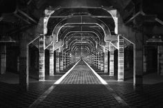 projections on architecture - Site-specific installation by Pablo Valbuena