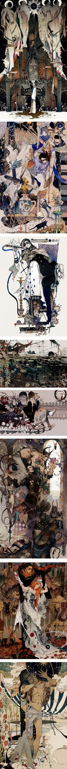 Akiya Kageichi | Lines and Colors :: a blog about drawing, painting, illustration, comics, concept art and other visual arts