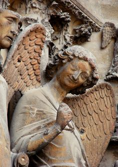 THE SMILE OF REIMS Here's a short poem honouring the smiling angel of Reims. smiling angel messenger of God, the stone cutters knew how to…