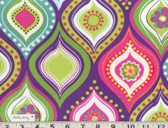 Hobby Lobby arts and crafts stores offer the best in project, party and home supplies. Visit us in person or online for a wide selection of products! Fabric Shop, Cotton Quilts, Floral Fabric, Pink Purple, Bright Purple, Hot Pink, Hobby Lobby, Deco, Vintage Patterns