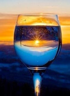 Do u get  A glass that is full A cup of sunshine A thrust for pure clean water A divine inspiration I get it  ;)