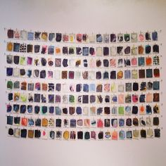 home in the studio: The Petite Drawingson Display at Hillyer Art...