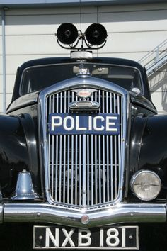 Vintage police car  BEVERLY HILLS CAR CLUB is always looking to purchase cars. We Buy and Sell All European and American Classic Cars! We Buy Cars in Any Condition!   Top Dollar Paid! Finder's Fee Gladly Paid We pick up from anywhere in the U.S.A! Please call Alex Manos : 310-975-0272