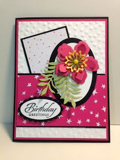 My Creative Corner!: Blossoms Builder and Wetlands Birthday Card