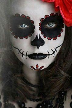 dia de la muerte maquillages - Google Search