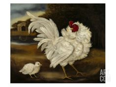 A Frizzle & Chick Giclee Print by Porter Design at Art.com