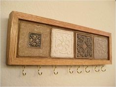 wood projects key holder