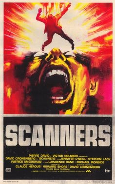 Scanners (1981) - Italian poster
