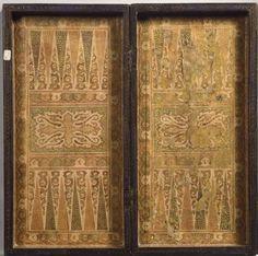 Backgammon Game Board. 1830, India. The Metropolitan Museum of Art