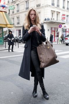 Romee Strijd Street Style #Romee_Strijd #Woman #Beauty #Fashion #Women_Style