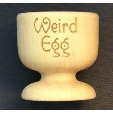 Wooden Egg Cups - Engraved with a name or short phrase