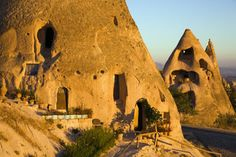 The cave dwellings of Cappadocia    David Sutherland/Photographer's Choice/Getty Images