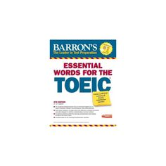 Ecd barrons toefl ibt 14th edition cdrom english study resources barrons essential words for the toeic paperback lin lougheed fandeluxe Images