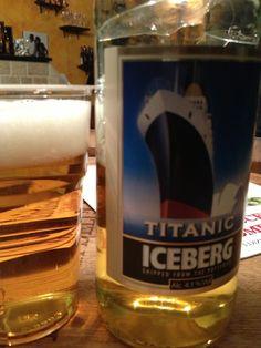 Titanic Iceberg  Brewed by Titanic (UK) Style: Golden Ale/Blond Ale Stoke-on-Trent, England