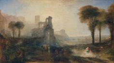 Caligula's Palace and Bridge. Joseph Mallord William Turner.