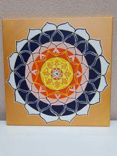 Mandala. My work.  ❤ 55x55 cm  www.instagram.com/zuzana_mandala_art/