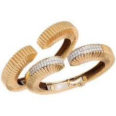 Diamond Gold Cuff bracelets