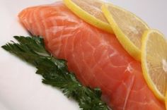 Salmon is great for all day energy. - See the other energy foods.