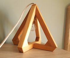 DIY Wood lamp