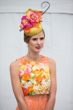 Racing Fashion at Geelong Fashions on the Field.