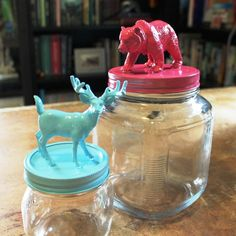 Make your own Animal Jar Toppers