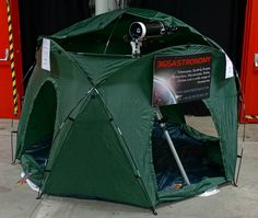 Astronomy Portable / Mobile Tent for Astronomical Observations - Portable ObservatoryIf you rent your place and thus cannot build a solid observatory dome or don't want to spend too much money on an observatory dome, or if you travel a . Astronomical Observatory, Astronomical Telescope, Mobiles, Tent Cot, Tents, Telescope Pictures, Bubble Tent, Diy Tent, Backyard Buildings