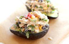 chicken and avacado salad