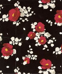 ¤ Beautifully coloured and realized floral pattern by Raoul Dufy for Bianchini-Ferier. Textile Patterns, Textile Prints, Flower Patterns, Print Patterns, Lino Prints, Block Prints, Textile Design, Motif Floral, Floral Prints