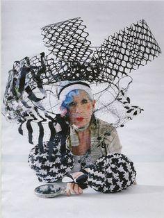 """The Originals"": Fashion Eccentrics by Tim Walker for W Magazine Nov. 2012"