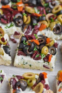 This Olive Pizza Appetizer is such an easy and fantastic appetizer for a party or get together. It's made with my pizza dough recipe that never fails. This appetizer recipe is an olive lover's dream! If you like my Olive Cheeseball, you MUST make this o Pizza Appetizers, Appetizers For Party, Appetizer Recipes, Vegetable Appetizers, Cold Appetizers, Girls Night Appetizers, Vegetable Pizza, Tapas, Fete Audrey